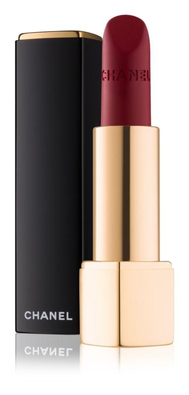 Chanel Rouge Allure Velvet batom com efeito aveludado com efeito matificante