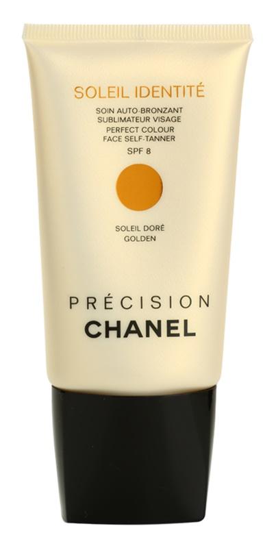 Chanel Précision Soleil Identité крем автозасмага для обличчя SPF 8