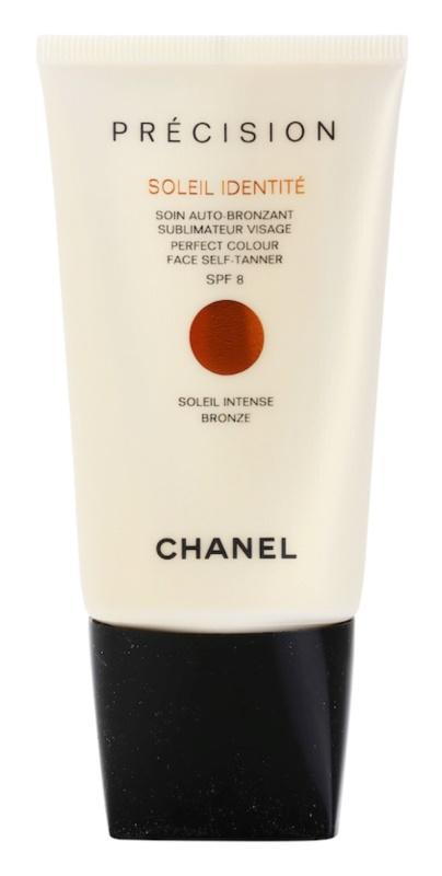 Chanel Précision Soleil Identité samoopalovací krém na obličej SPF 8