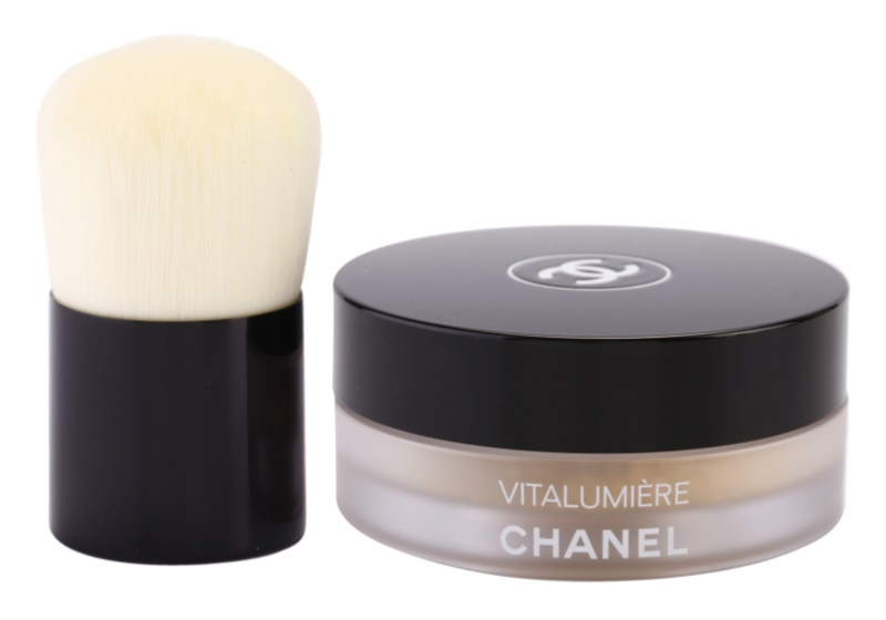 Chanel Vitalumière porpúder ecsettel