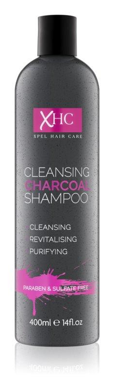 Charcoal Face and Body šampón s aktívnymi zložkami uhlia bez sulfátov a parabénov