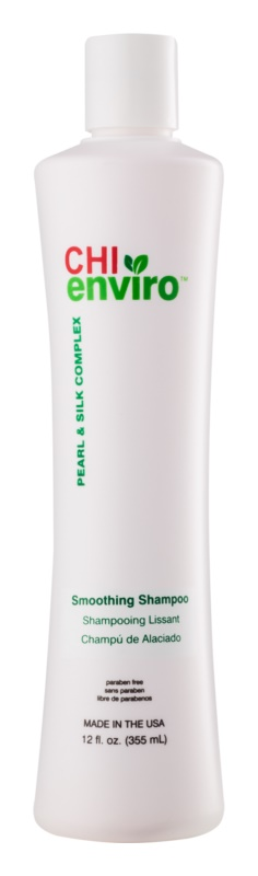 CHI Enviro Smoothing Shampoo without Sulfates and Parabens