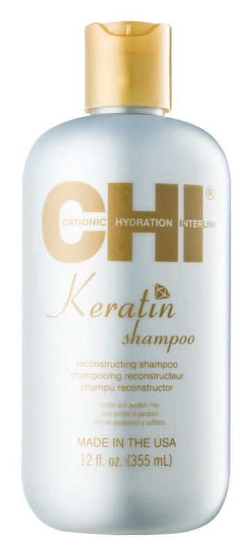 CHI Keratin shampoo alla keratina per capelli secchi e ribelli