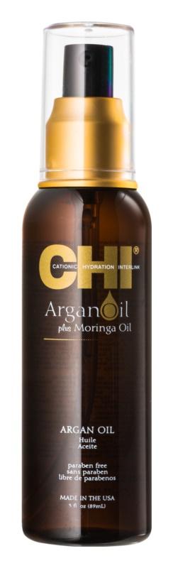 CHI Argan Oil uljna njega s arganovim uljem bez parabena