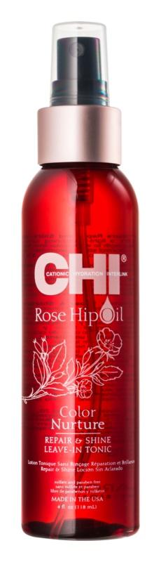CHI Rose Hip Oil olej pro barvené a poškozené vlasy