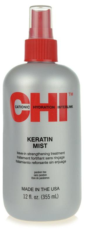 CHI Infra Keratin Mist cure pour fortifier les cheveux