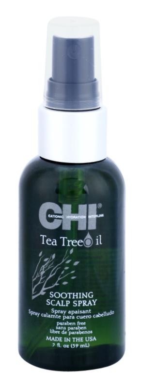 CHI Tea Tree Oil spray calmante para aliviar la irritación y el picor en el cuero cabelludo