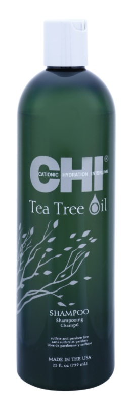 CHI Tea Tree Oil sampon pentru par si scalp gras