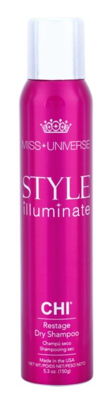 CHI Style Illuminate Miss Universe champú seco para absorber el exceso de grasa y refrescar el cabello