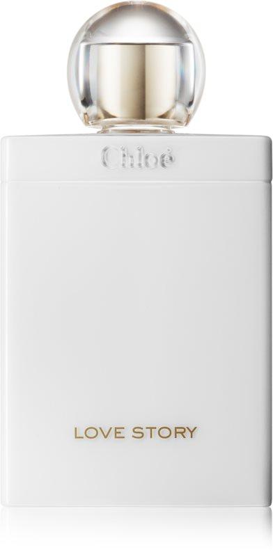 Chloé Love Story leite corporal para mulheres 200 ml