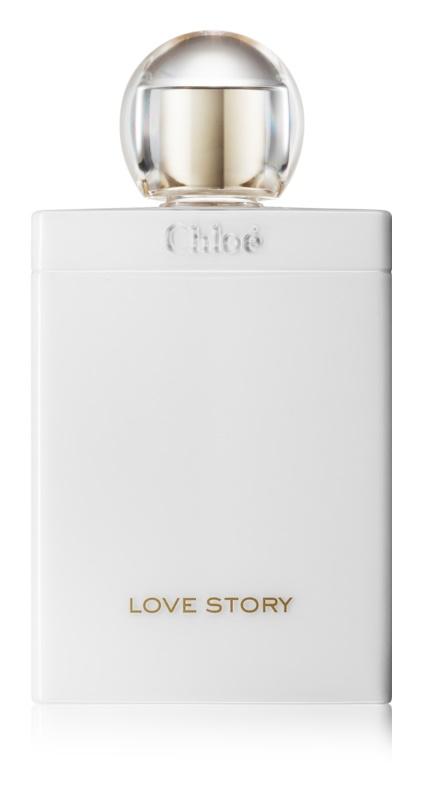 Chloé Love Story telové mlieko pre ženy 200 ml
