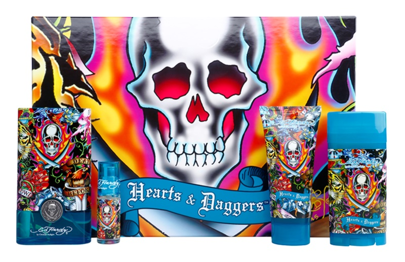 Christian Audigier Ed Hardy Hearts & Daggers for Him Geschenkset I.