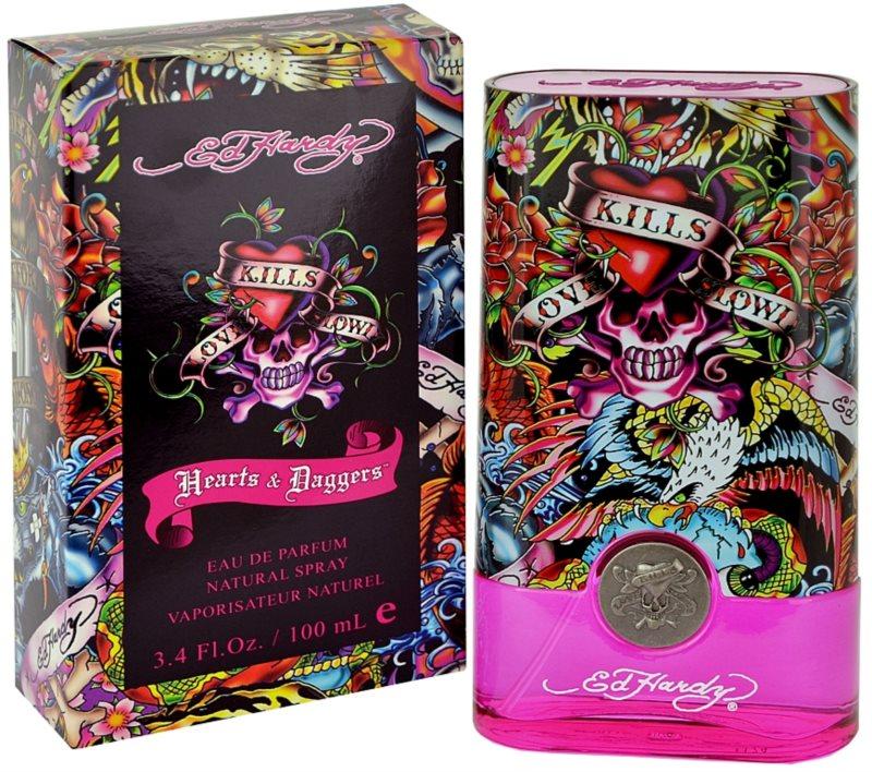 Christian Audigier Ed Hardy Hearts & Daggers for Her eau de parfum pour femme 100 ml