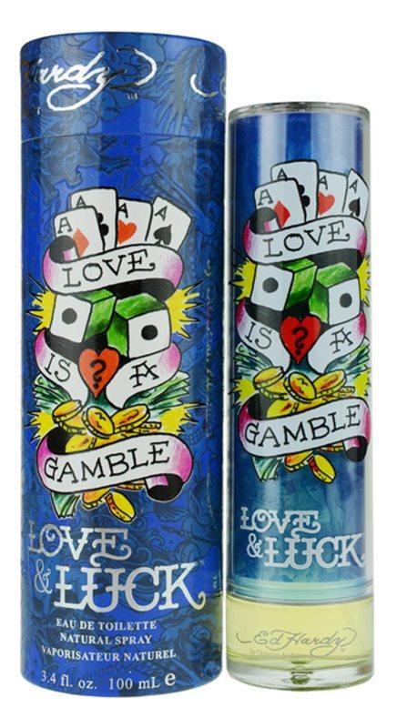 Christian Audigier Ed Hardy Love & Luck Man toaletná voda pre mužov 100 ml