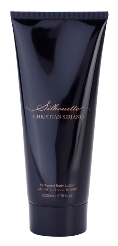 Christian Siriano Silhouette lotion corps pour femme 200 ml