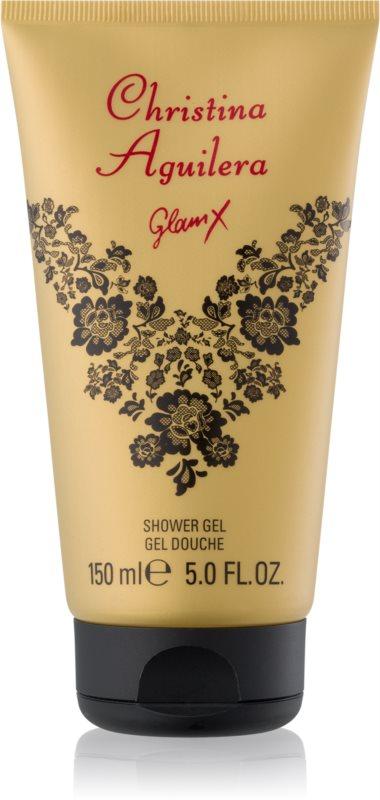Christina Aguilera Glam X gel za prhanje za ženske 150 ml