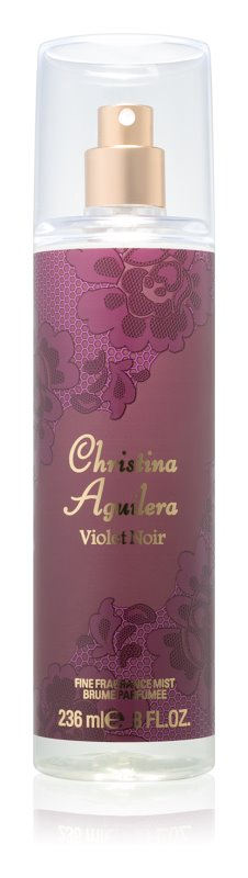 Christina Aguilera Violet Noir tělový sprej pro ženy 236 ml