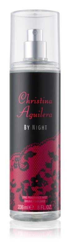 Christina Aguilera By Night tělový sprej pro ženy 236 ml