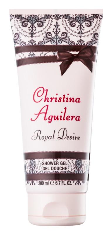 Christina Aguilera Royal Desire sprchový gél pre ženy 200 ml