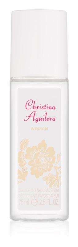 Christina Aguilera Woman dezodorant z atomizerem dla kobiet 75 ml