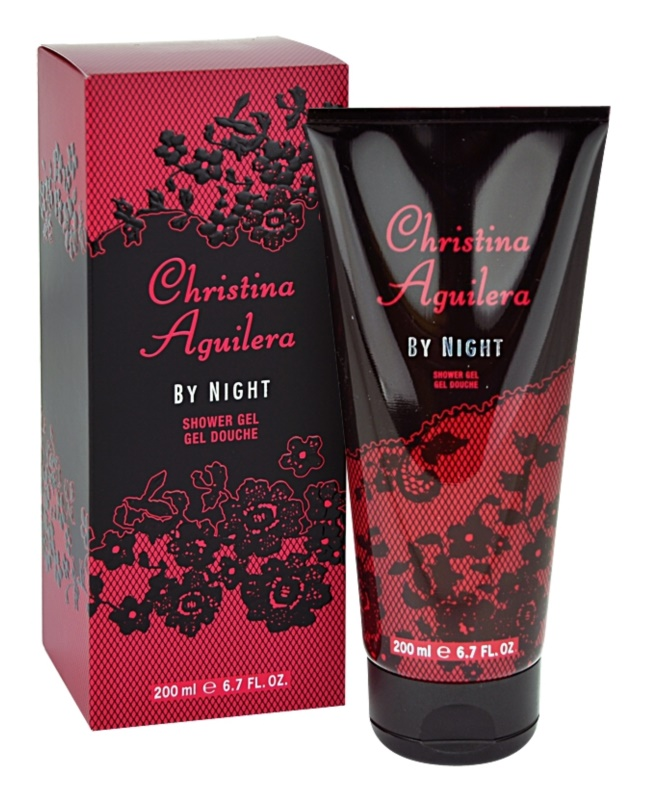 Christina Aguilera By Night Shower Gel for Women 200 ml