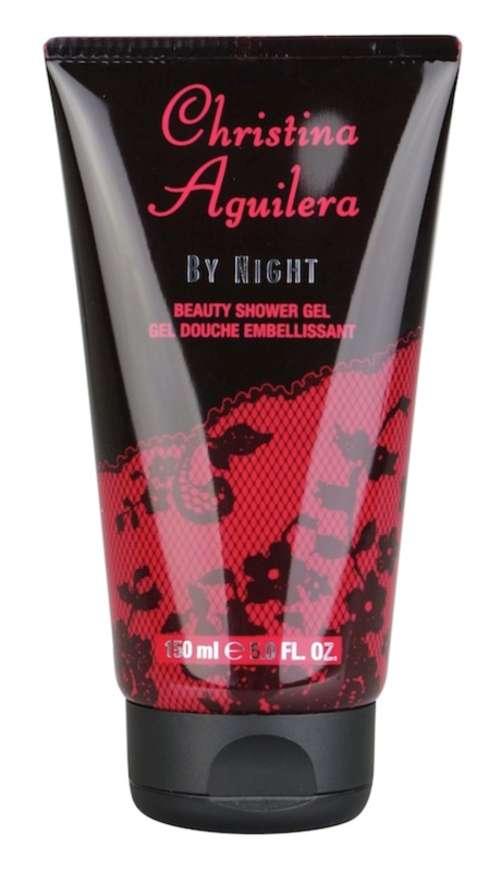 Christina Aguilera By Night gel douche pour femme 150 ml (sans emballage)