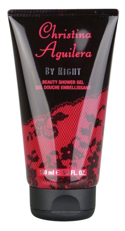 Christina Aguilera By Night sprchový gel pro ženy 150 ml (bez krabičky)