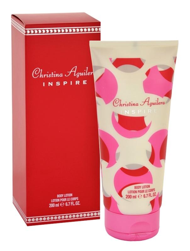 Christina Aguilera Inspire lotion corps pour femme 200 ml