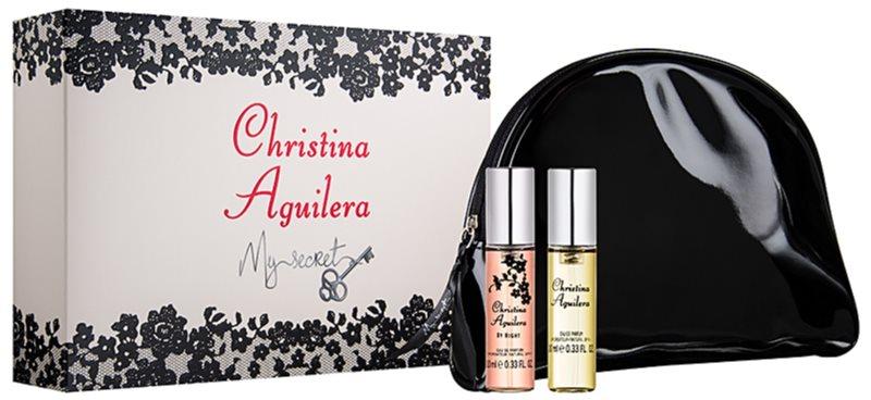 Christina Aguilera My Secret darčeková sada I.