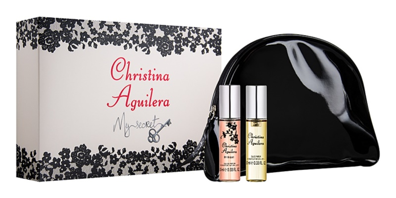 Christina Aguilera My Secret set cadou I.
