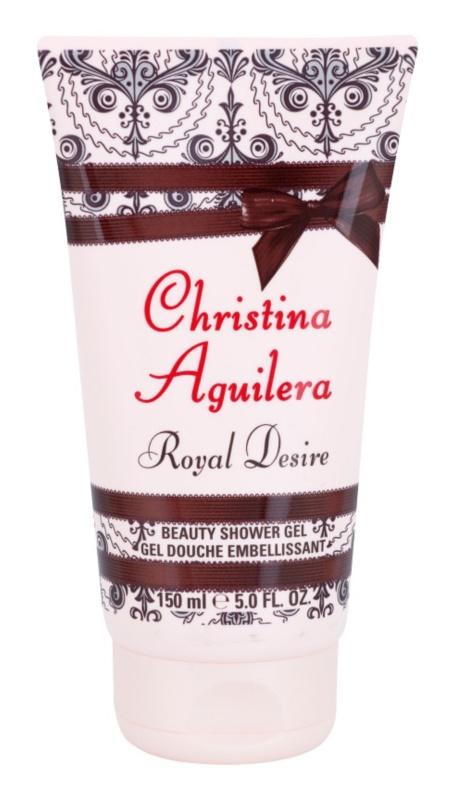 Christina Aguilera Royal Desire Douchegel voor Vrouwen  150 ml