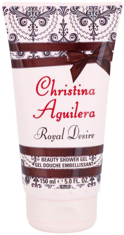 Christina Aguilera Royal Desire gel douche pour femme 150 ml