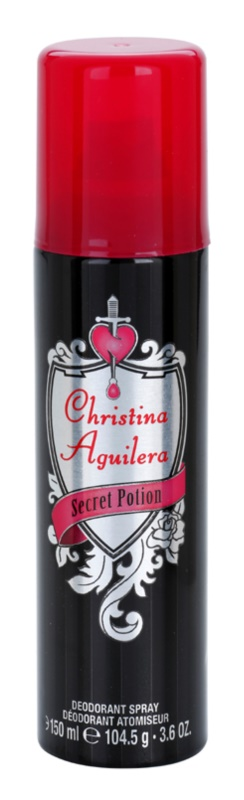 Christina Aguilera Secret Potion deospray pro ženy 150 ml