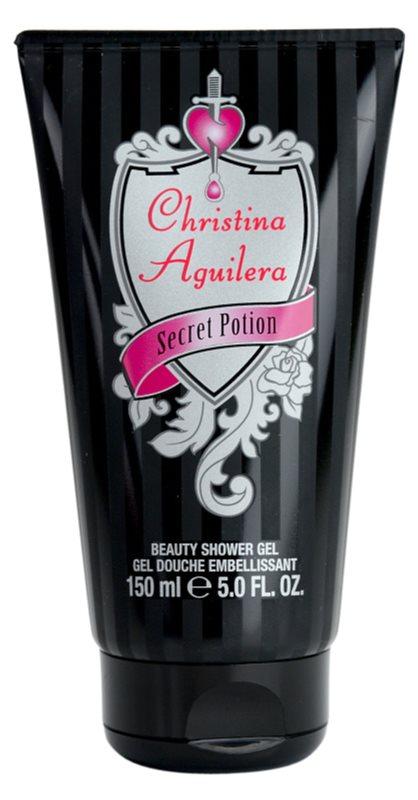 Christina Aguilera Secret Potion gel za prhanje za ženske 150 ml