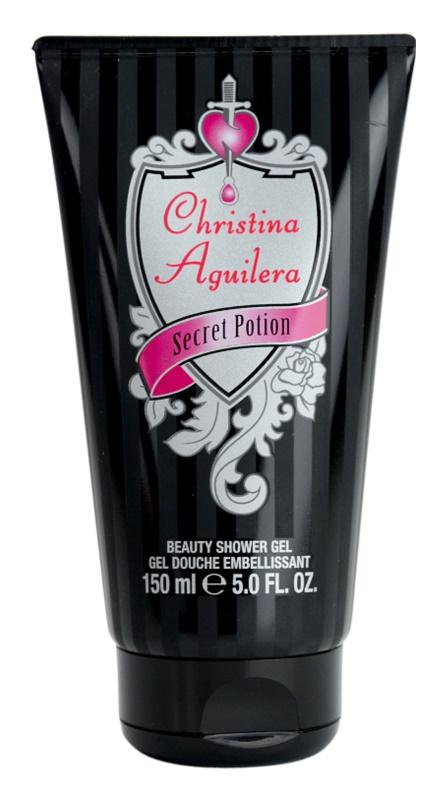 Christina Aguilera Secret Potion sprchový gél pre ženy 150 ml