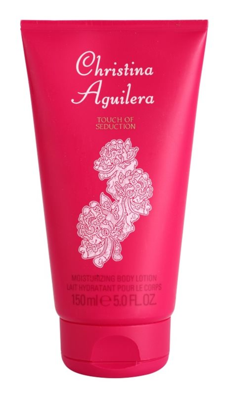 Christina Aguilera Touch of Seduction telové mlieko pre ženy 150 ml