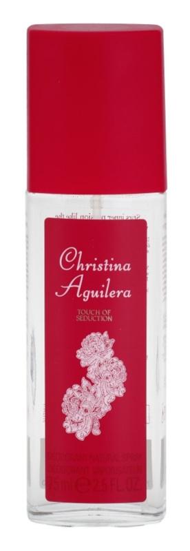 Christina Aguilera Touch of Seduction déodorant avec vaporisateur pour femme 75 ml