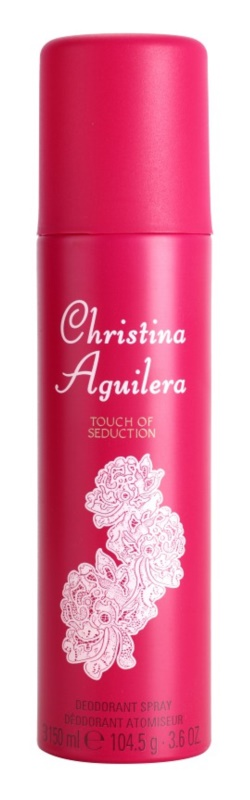 Christina Aguilera Touch of Seduction deodorant Spray para mulheres 150 ml