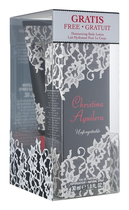 Christina Aguilera Unforgettable ajándékszett II.