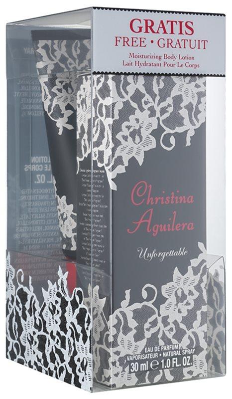Christina Aguilera Unforgettable confezione regalo II.