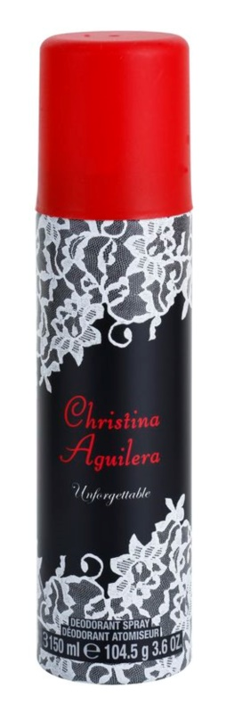 Christina Aguilera Unforgettable deospray pro ženy 150 ml