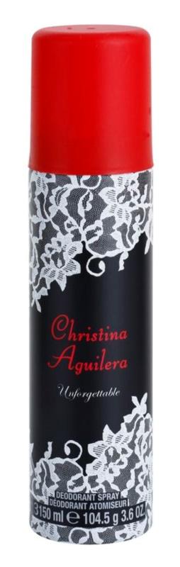 Christina Aguilera Unforgettable deospray pro ženy 150 ml