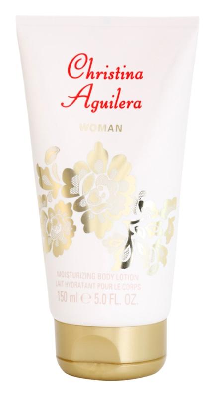 Christina Aguilera Woman latte corpo per donna 150 ml