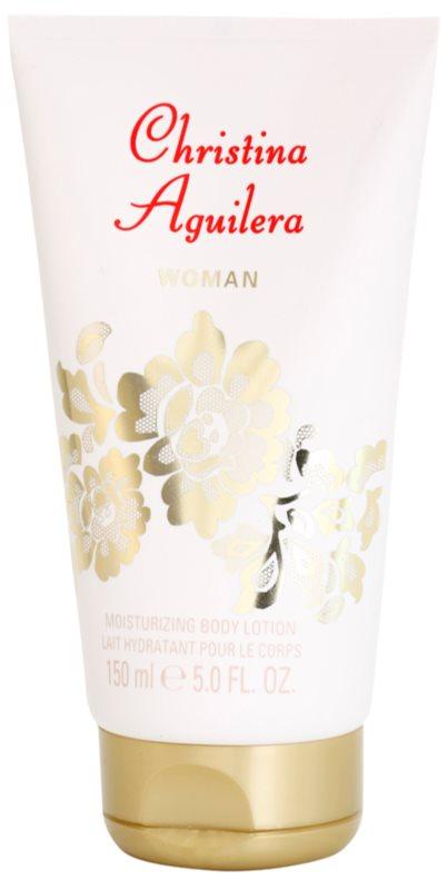 Christina Aguilera Woman telové mlieko pre ženy 150 ml