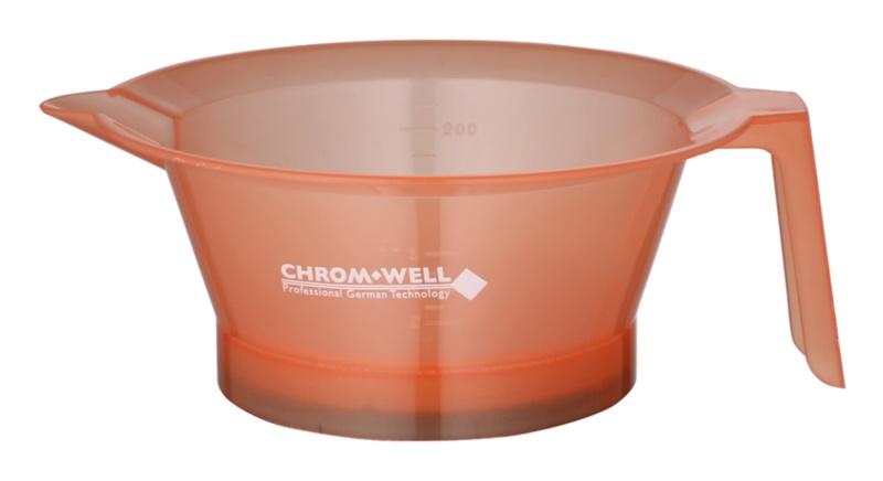 Chromwell Accessories Pink recipiente para mezclar tinte de pelo