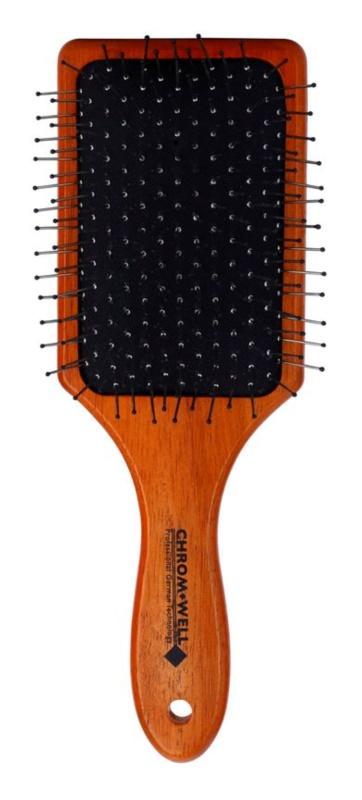 Chromwell Brushes Dark Wood kartáč na vlasy