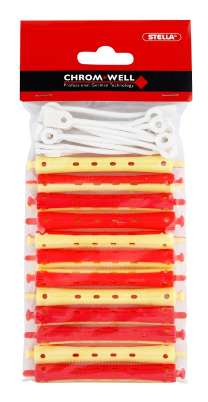 Chromwell Accessories Red/Yellow Rolos para permanente