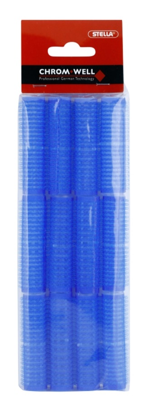 Chromwell Accessories Blue selbsthaftende Lockenwickler
