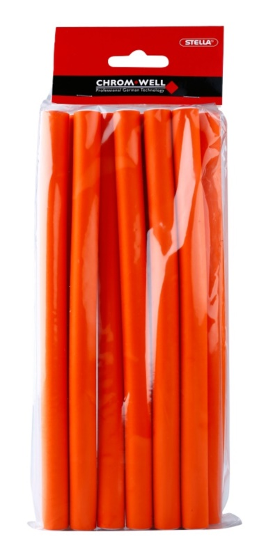 Chromwell Accessories Orange Long Bendy Rollers