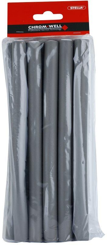 Chromwell Accessories Grey mittelgroße Schaum-Papilotten